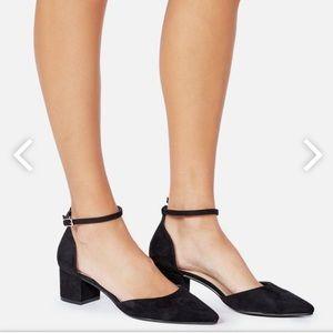 Brand new block heel pump